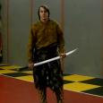 Элемент игры клинка для ударов мечом с двух рук, состоит из совмещения прямой горизонтальной восьмерки и удара с разворотом на 360. Схема элемента позволяет выполнять сочетания с ударами в любой...